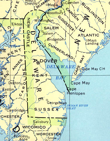 StateMaster Statistics On Delaware Facts And Figures Stats And - City map of delaware