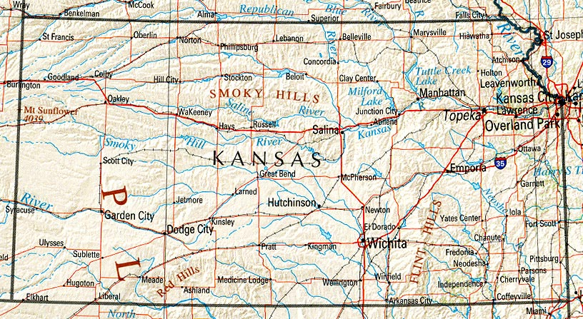 StateMaster Statistics on Kansas facts and figures stats and