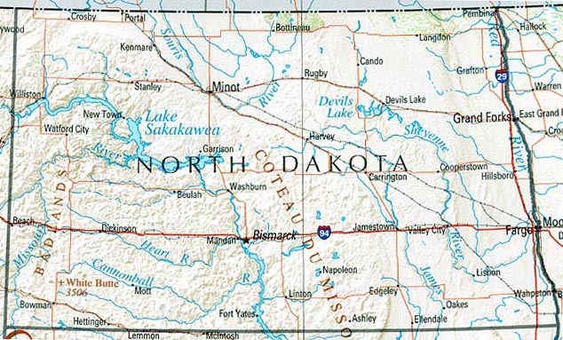 StateMaster - Statistics on North Dakota. facts and figures, stats ...