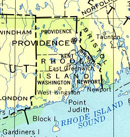 StateMaster Statistics On Rhode Island Facts And Figures Stats - Map of ri