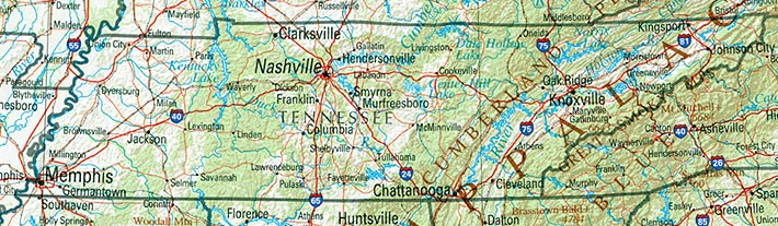 StateMaster - Statistics on Tennessee. facts and figures, stats ...