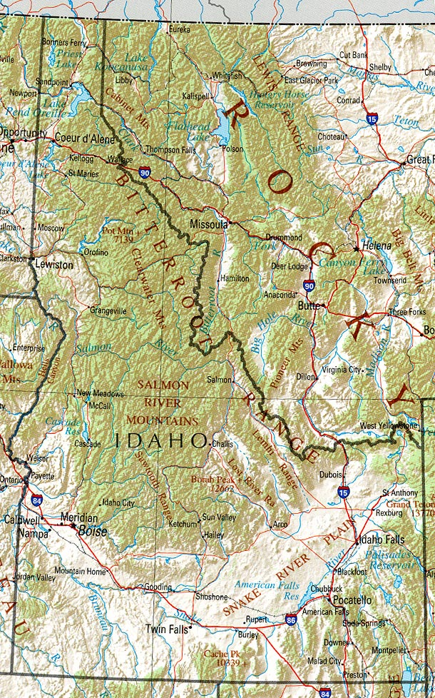 Shoshone Idaho Map.Statemaster Statistics On Idaho Facts And Figures Stats And