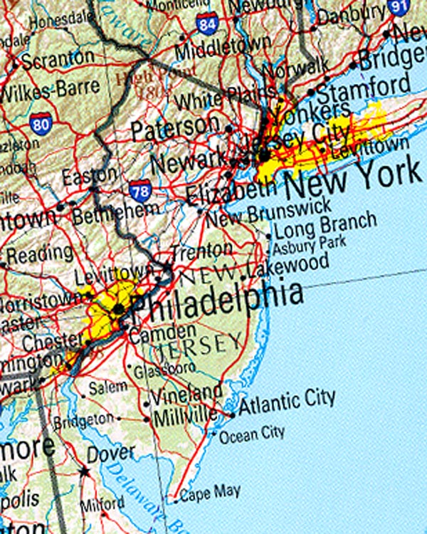 Best Places To Live York Pa: Statistics On New Jersey. Facts And Figures