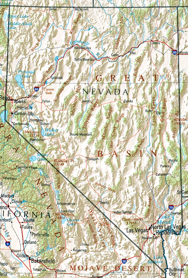 StateMaster - Statistics on Nevada  facts and figures, stats and