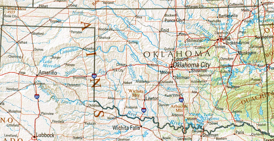 Trail Of Tears Oklahoma Map.Statemaster Statistics On Oklahoma Facts And Figures Stats And