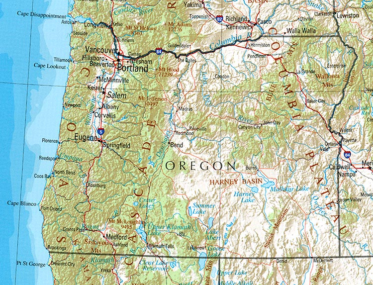 StateMaster - Statistics on Oregon  facts and figures, stats and